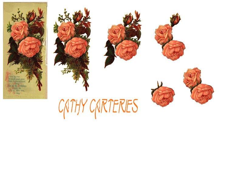creation planche 3d fleurs